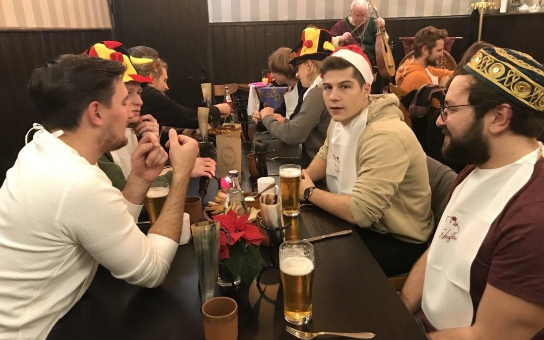 aceArt Weihnachtsfeier 2019 Burg Hohen Neuffen